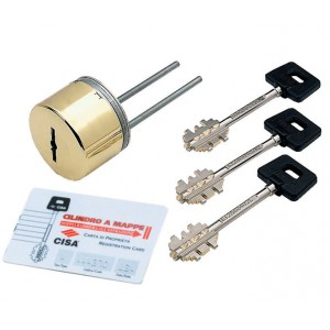 Защитный сувальдно-пиновый цилиндр CISA 02716