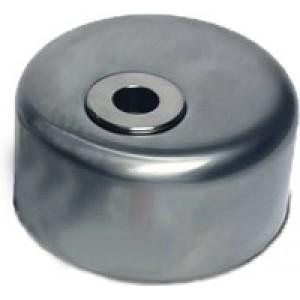 Броненакладка Titan матовый хром для цилиндров Dom Diamant